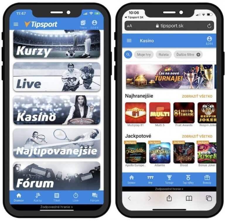 Tipsport sk online kasíno v mobile